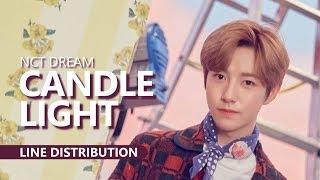 NCT DREAM 엔시티 드림 - Candle Light 사랑한단 뜻이야 | Line Distribution