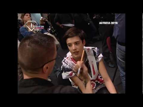 FashionTV - FTV.com - Agyness Deyn First Face Talks SS 08