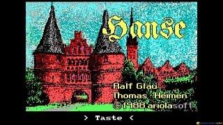 Hanse gameplay (PC Game, 1986)