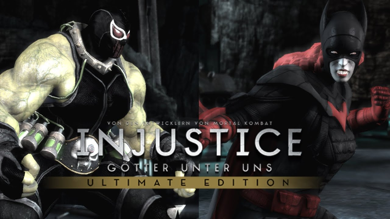 injustice ultimate edition pc bane 1997 movie vs
