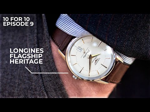 A Classy Dress Watch Respecting The Past - The Longines Flagship Heritage WatchGecko Review