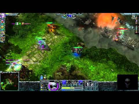 видео: heroes of newerth - Нагиб на mid wars