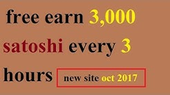 Earn free bitcoin-claim 3000 satoshi every 180 minute   top paying faucet 2017