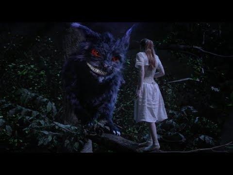 Alice Meets Cheshire Cat