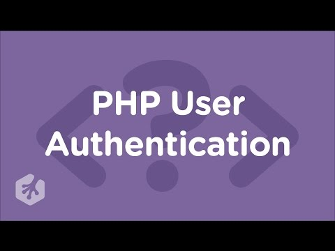 PHP User Authentication
