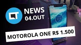 Motorola One chega ao Brasil; Nintendo na BGS; Vaza Moto G7 e + [CT News]