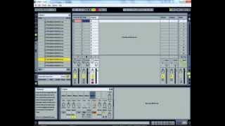Minimal tech house percussion in Ableton tutorial.wmv