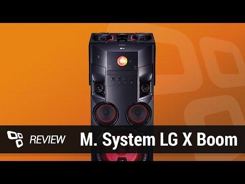 Mini System LG X Boom Festa OM7560 [Review] - TecMundo
