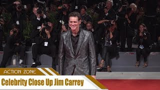 Celebrity Close Up Jim Carrey