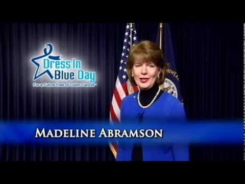 Madeline Abramson Dress in Blue Day 2014