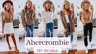 Abercrombie Fall 2019 Try On Haul | Fall 2019 Outfit Ideas