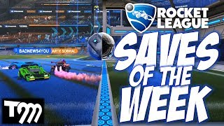 Rocket League - TOP 10 SAVES OF THE WEEK #46