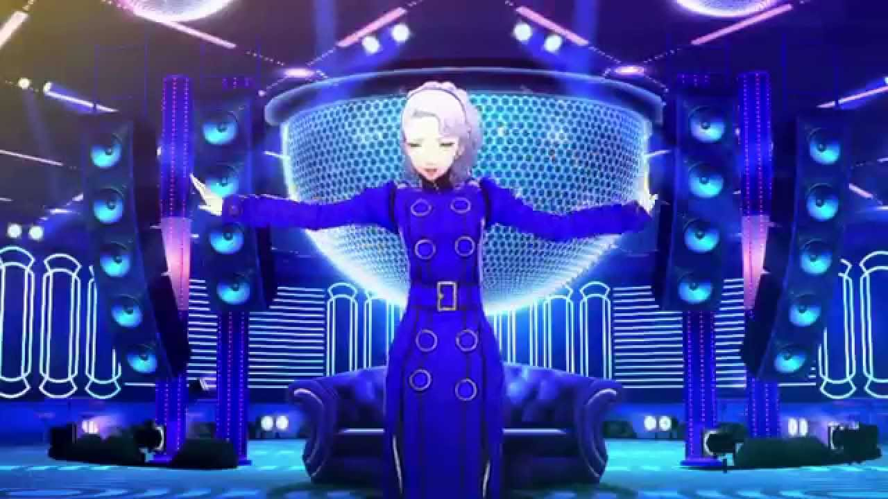Persona 4 Dancing All Night - Electronica In Velvet Room - YouTube