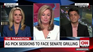 Wajahat Ali on CNN: Jeff Sessions is uniquely unqualified for Attorney General based on his record