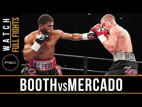Booth vs Mercado FULL FIGHT: June 27, 2017 - PBC on FS1