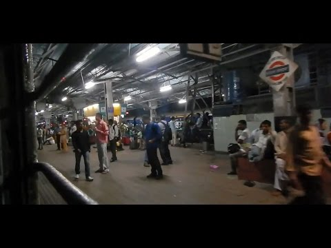 NIGHT Run in MUMBAI Suburbs : GITANJALI EXPRESS (Indian Railways)