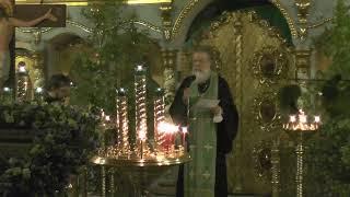 День Святой Троицы. Пятидесятница. Всенощное бдение. Храм Успения в Путинках