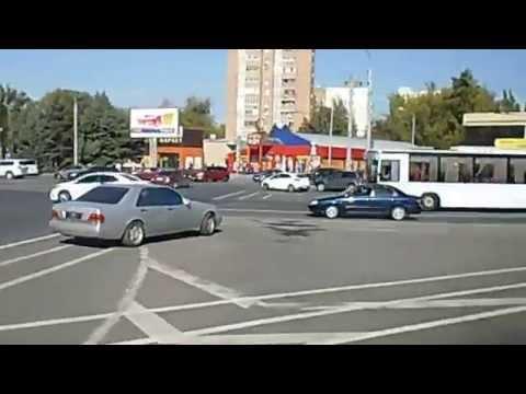 Выезд из Ростова-на-Дону со стороны Пригородного автовокзала