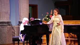 Старцева Каролина2 В Моцарт ария Барбарины из оперыСвадьба Фигаро