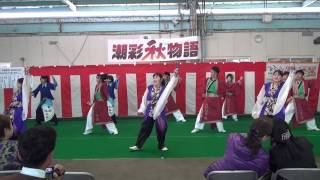 潮彩秋物語2013 天神雷舞 福の神.