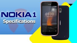 Nokia 1 Specifications: The Budget Android Oreo Go Smartphone