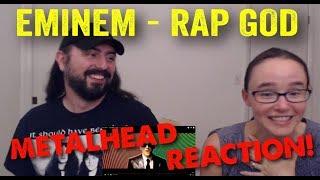 Rap God - Eminem (REACTION! by metalheads)
