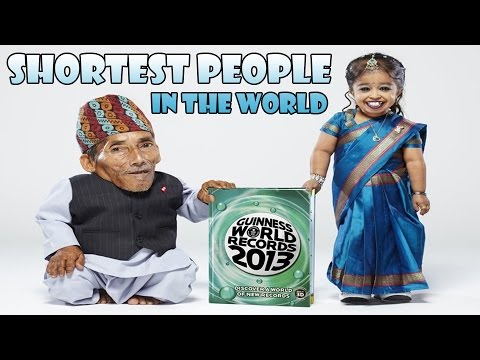 Shortest people in the world