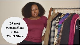 Outerwear Thrift Store Haul/ Very Large