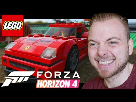 Mini Cooper to Ferrari F40!! - Forza Horizon 4 (Lego DLC)