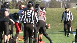 Otterbein vs  Ohio Northern Football