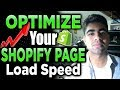 How To Optimize Shopify Page/Load Speed in 2020 (INCREASE SALES FAST)