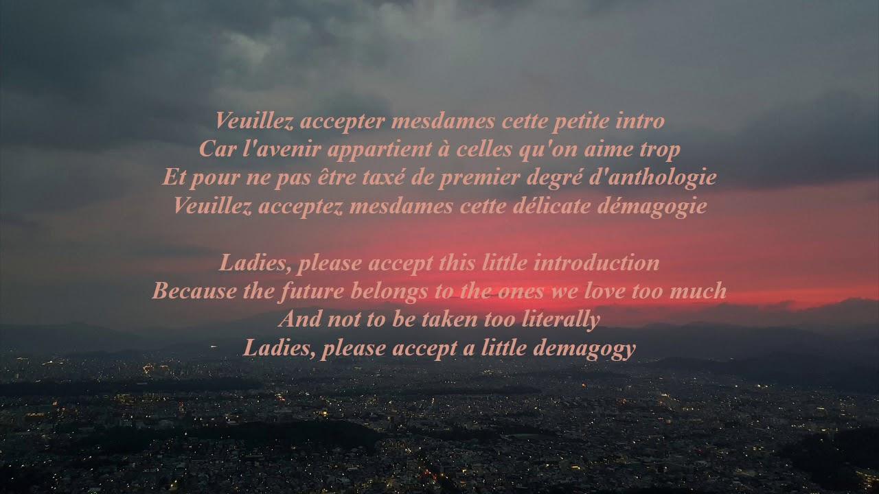 Grand Corps Malade - Rencontre lyrics + English translation