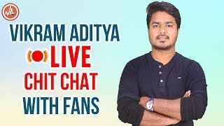 Vikram Aditya LIVE Chit Chat with FANS | VikramAditya 50 Realme 3 3GB Mobiles Announcement