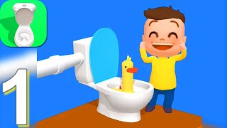 Toilet Games 3D - Gameplay Walkthrough Part 1 Levels 1-60 (Android,iOS)
