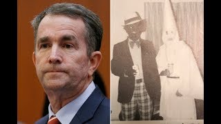 Democratic Governor Busted for School Yearbook Picture of Blackface and KKK Robe