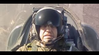 Bob doing Canyon Runs over Mojave desert - in a Fighter Jet!
