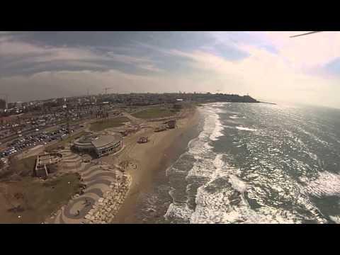 Phantom 2 Yaffo Tel Aviv Beach GOPR0310