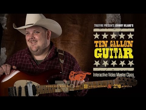Ten Gallon Guitar - Intro - Johnny Hiland Guitar Lessons