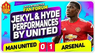 SOLSKJAER OUT Again? Man United 0-1 Arsenal | Live Fan Forum
