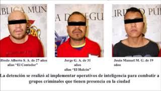 Capturan en Juárez a 3 sicarios de La Línea con armas y droga