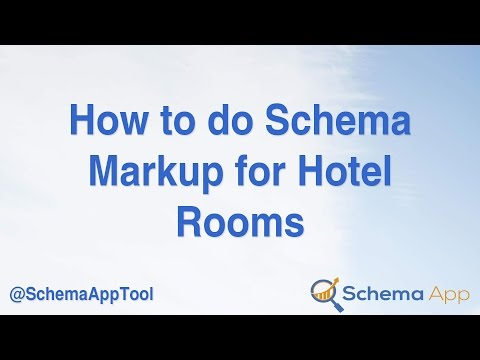 How to do Schema Markup (JSON-LD) for a Hotel Room