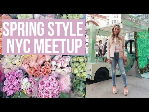 SPRING IN NYC! MEETUP + WOMENS PANEL | ALEX & MICHAEL