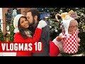 CHICAGO CHRISKINDLE MARKET ICE SKATING  Vlogmas 10   BelindasLife