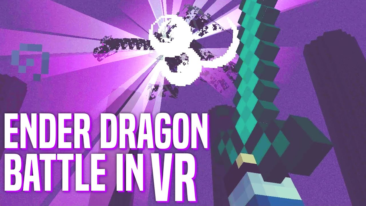 Defeating The Ender Dragon in VR Minecraft! – Vivecraft (Oculus Rift)