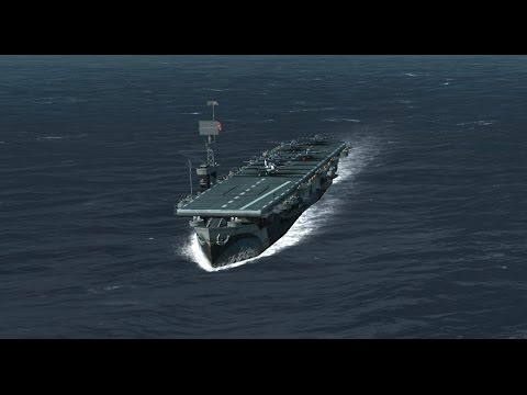 Atlantic Fleet : Carrier Spotlight - Bogue Class Escort Carrier - Destroying Battleships