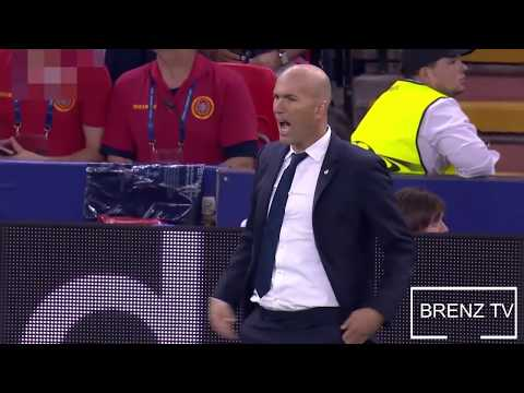 The Reactions of Zidane in The final [Champions league 2k17]