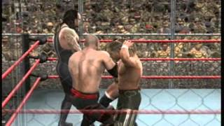SVR 09 DX vs the Brothers of Destruction Hell in a cell