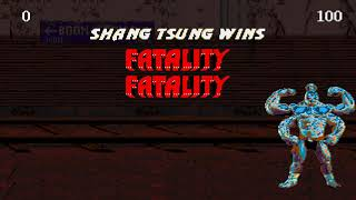 [TAS] (GEN) Ultimate Mortal Kombat Trilogy - Dramatic Battle - MK1 Shang Tsung and Goro