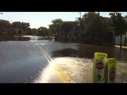 Denville, NJ Hurricane Irene Broadway
