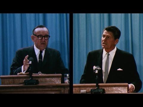 1966 California Governors Forum Ronald Reagan & Edmund Pat Brown - Preview